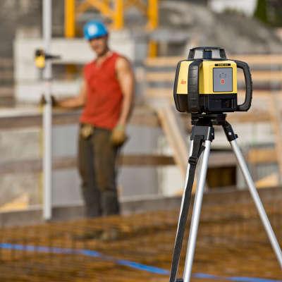 Ротационный лазерный нивелир Leica Rugby 610 RE140 (6015673)