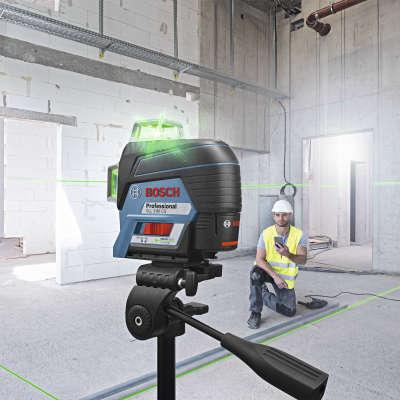 Лазерный уровень Bosch GLL 3-80 CG + BM 1 (12 V) + L-Boxx 0.601.063.T00