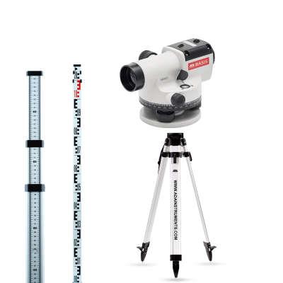 Оптический нивелир ADA Basis + Staff 3 + Light (A00117_K1)