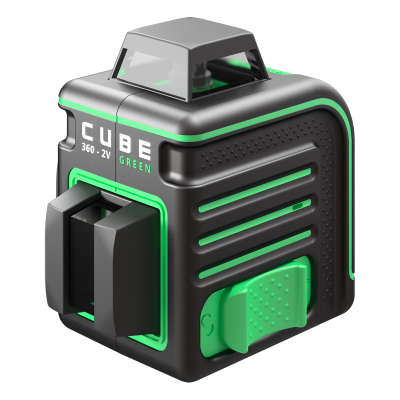 Лазерный уровень ADA Cube 360-2V Green Professional Edition А00571