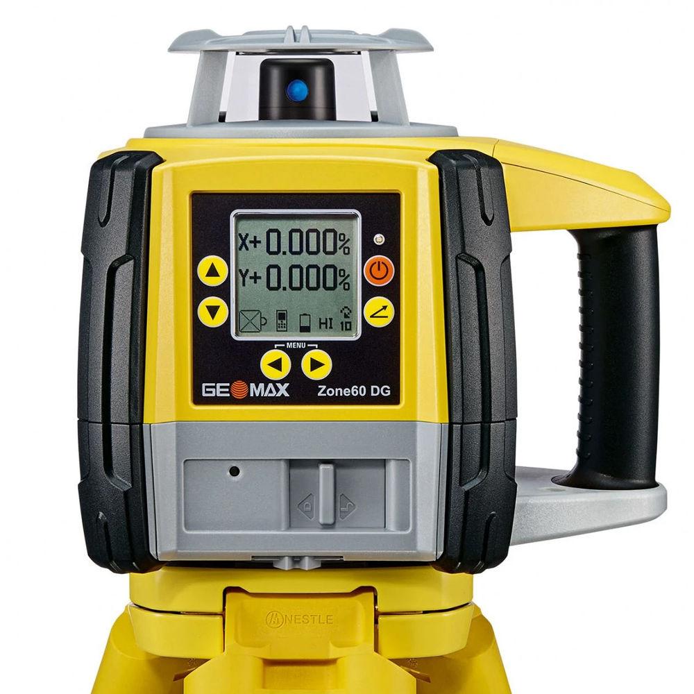 Ротационный лазерный нивелир GeoMax Zone60 DG Beam Catch 6012186