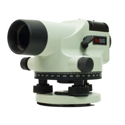 Оптический нивелир ADA Basis + штатив + рейка 3м А00117_К