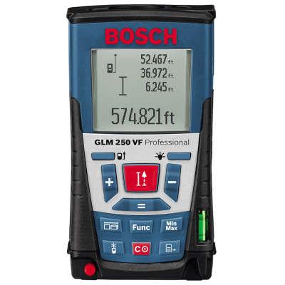 Лазерный дальномер Bosch GLM 250VF Professional + BT150 (061599402J)