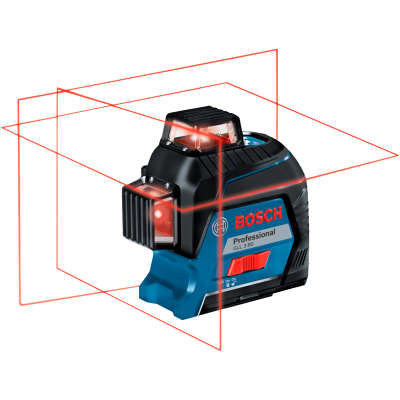 Лазерный уровень Bosch GLL 3-80 (AA) + кейс (0601063S00)