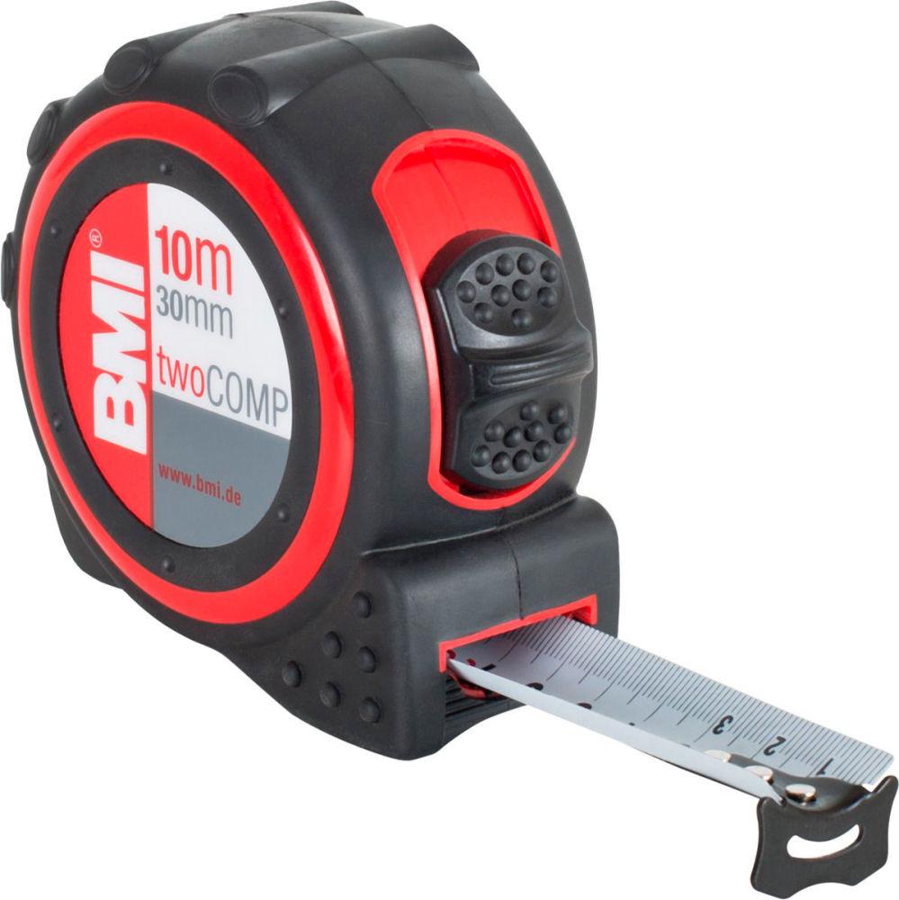 Рулетка BMI twoCOMP 10m Magnetic 472041021M