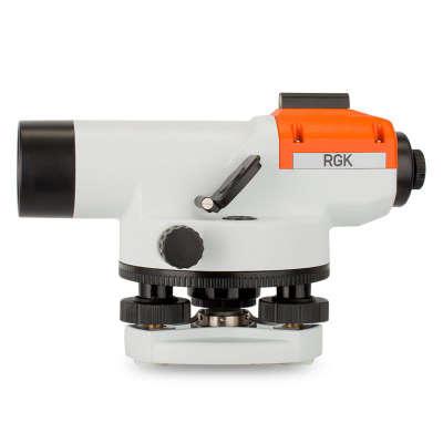 Оптический нивелир RGK C-24 + штатив + рейка 3м (4610011870095)
