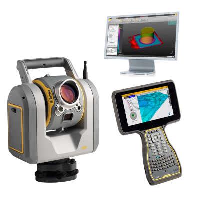 "Сканирующий тахеометр Trimble SX10 1"" + контроллер TSC7 + TRW Advanced Modeler"
