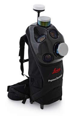 Мобильный 3D-сканер Leica Pegasus: Backpack