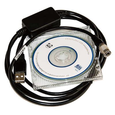 Интерфейсный кабель Sokkia/Topcon F4 USB3 (аналог) 4610011873539