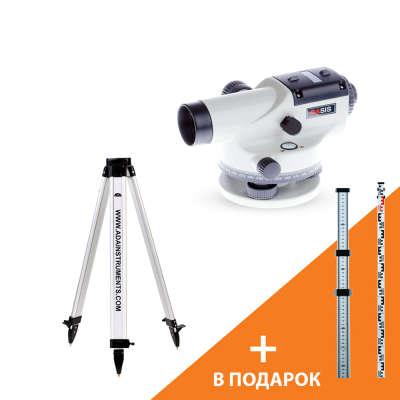 Оптический нивелир ADA Basis + Staff 3 + Light S (А00117_К)