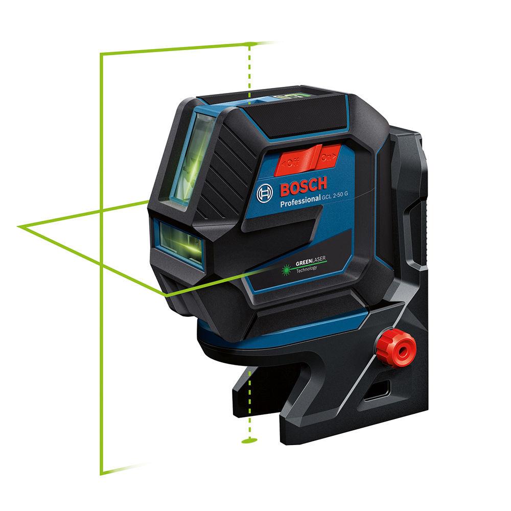 Лазерный уровень Bosch GCL 2-50 G + BT 150 0601066M01