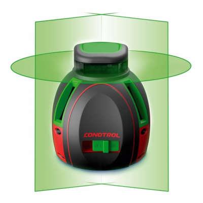 Лазерный уровень Condtrol UniX 360 Green Pro (1-2-136)