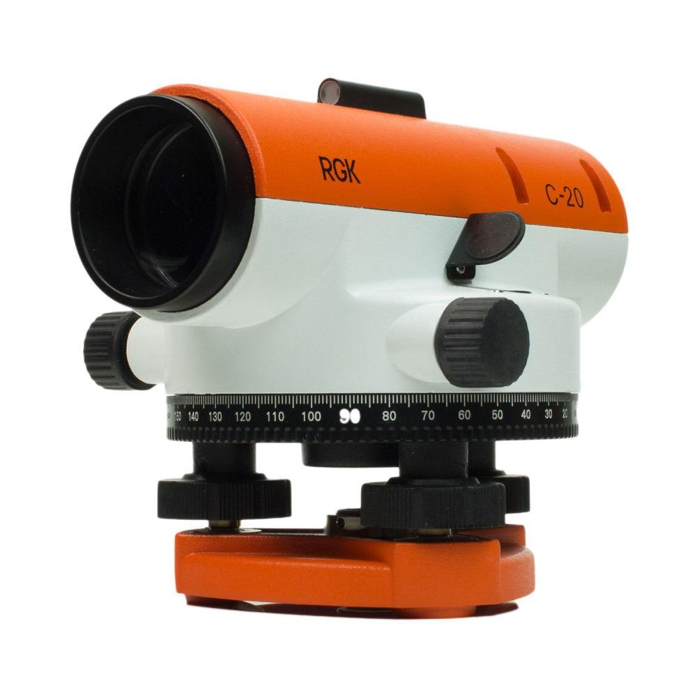 Оптический нивелир RGK C-20 + поверка 4610011870552