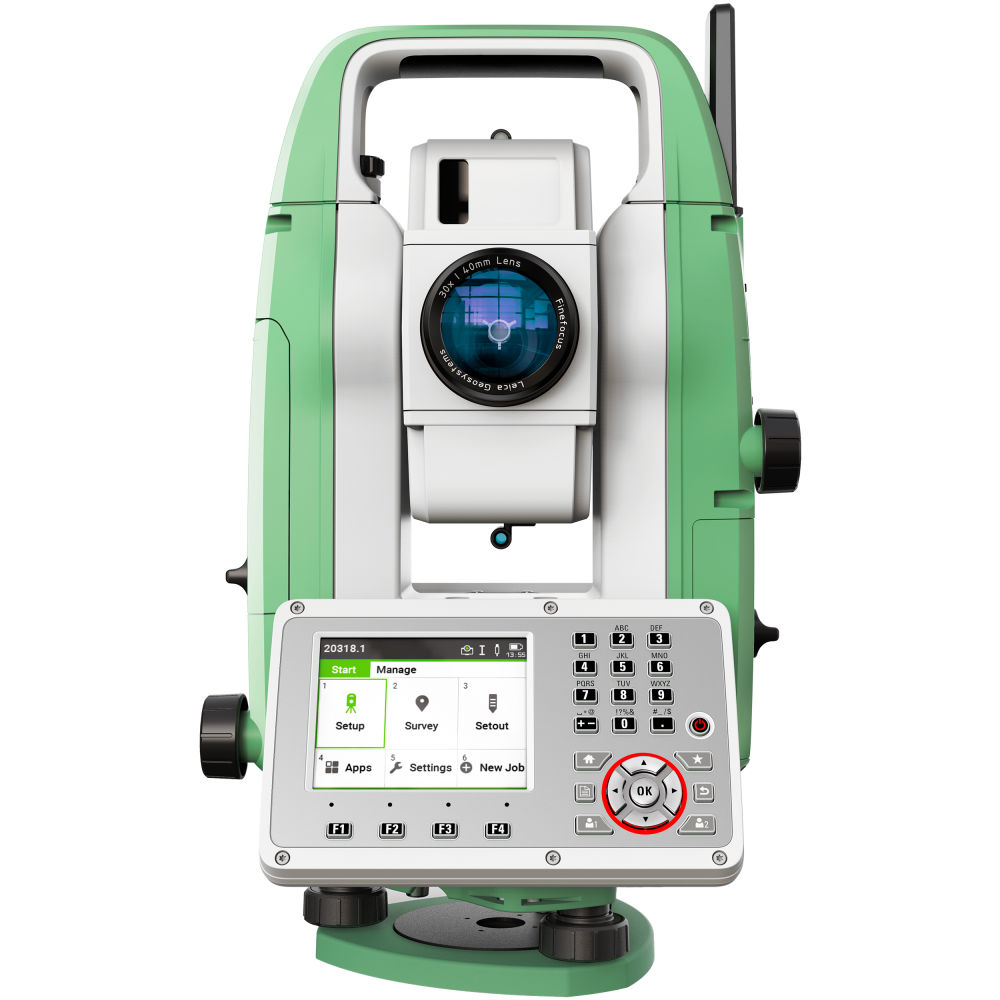 """Тахеометр Leica TS07 R1000 (2"""") AutoHeight 890038"""