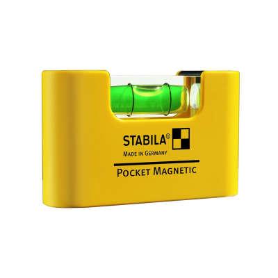 Компактный уровень STABILA Pocket Magnetic