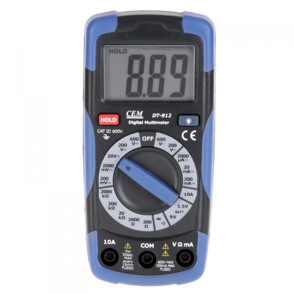 Мультиметр CEM DT-912 480960