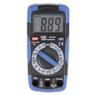 Мультиметр CEM DT-912 (480960)