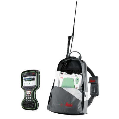 Комплект ровера Leica GS10 GSM+UHF, Rover CS20