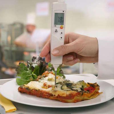 Термометр пищевой Testo 106 с чехлом TopSafe с поверкой 0563 1063П
