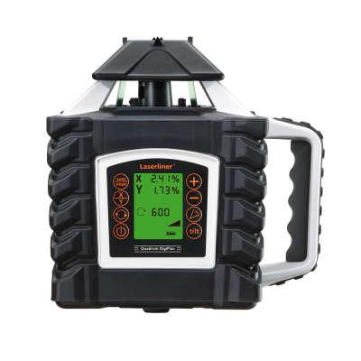 Ротационный лазерный нивелир Laserliner Quadrum Green 410 S 053.00.02A