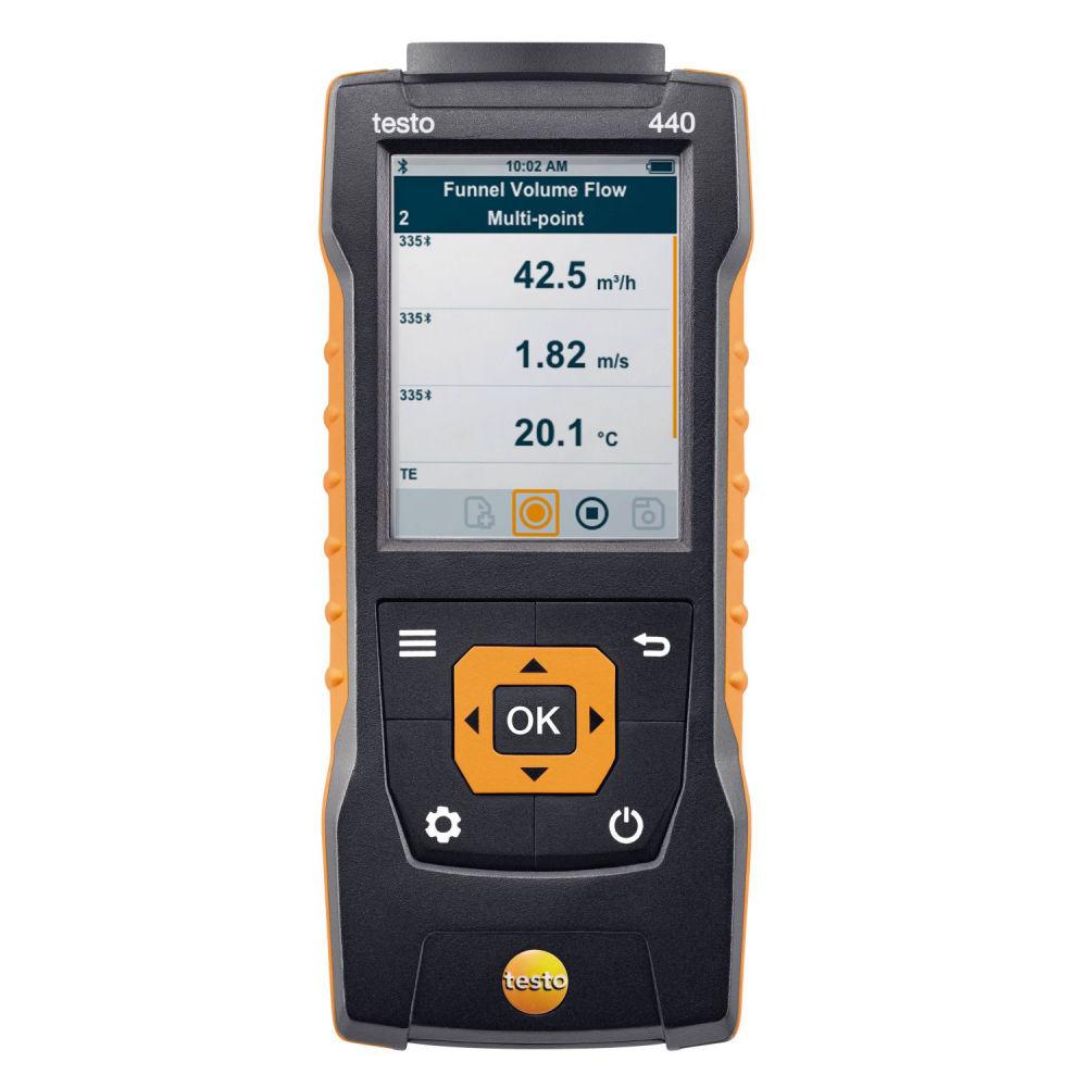 Прибор для измерения скорости и оценки качества воздуха в помещении Testo 440 0560 4401