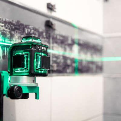 Лазерный уровень  ADA Cube 3-360 Green Basic Edition (А00560)