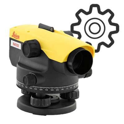 Ремонт оптического нивелира - Замена торсионных нитей компенсатора