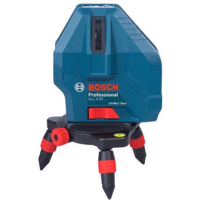 Лазерный уровень Bosch GLL 5-50X + мини штатив (0601063N00)