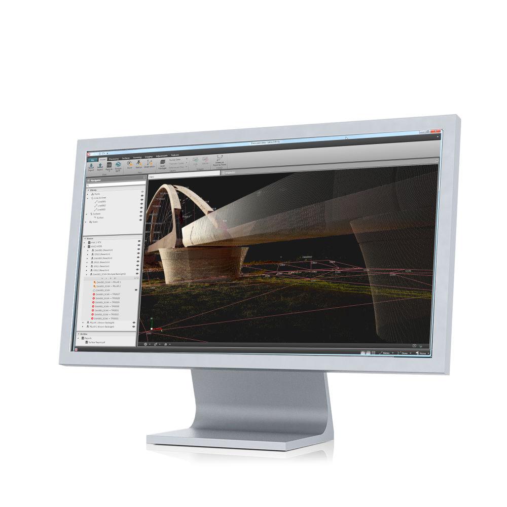 Программное обеспечение Leica Infinity Compl & Infrstr.Bundle (FL) 851484