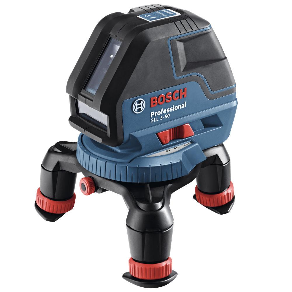 Лазерный уровень Bosch GLL 3-50 (BM1, LR2, L-Boxx) 0601063803