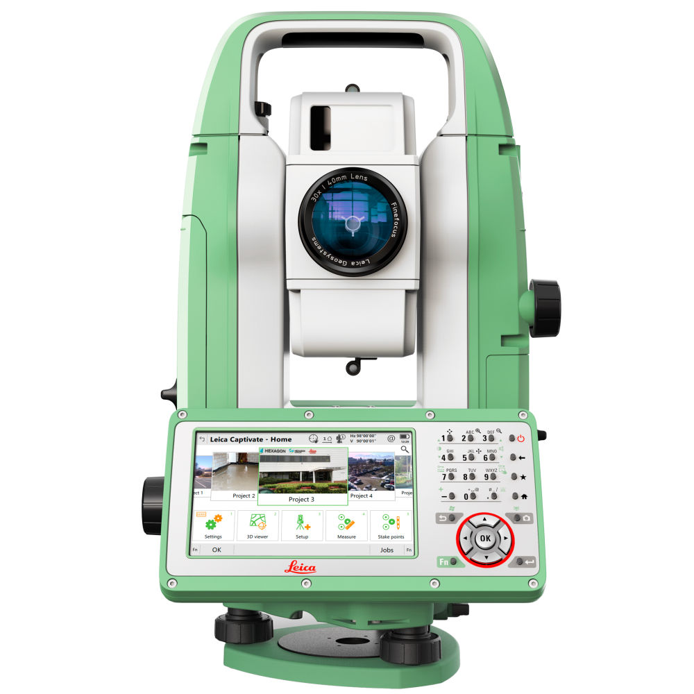"""Тахеометр Leica TS10 R1000 2"""" EGL Arctic 868802"""