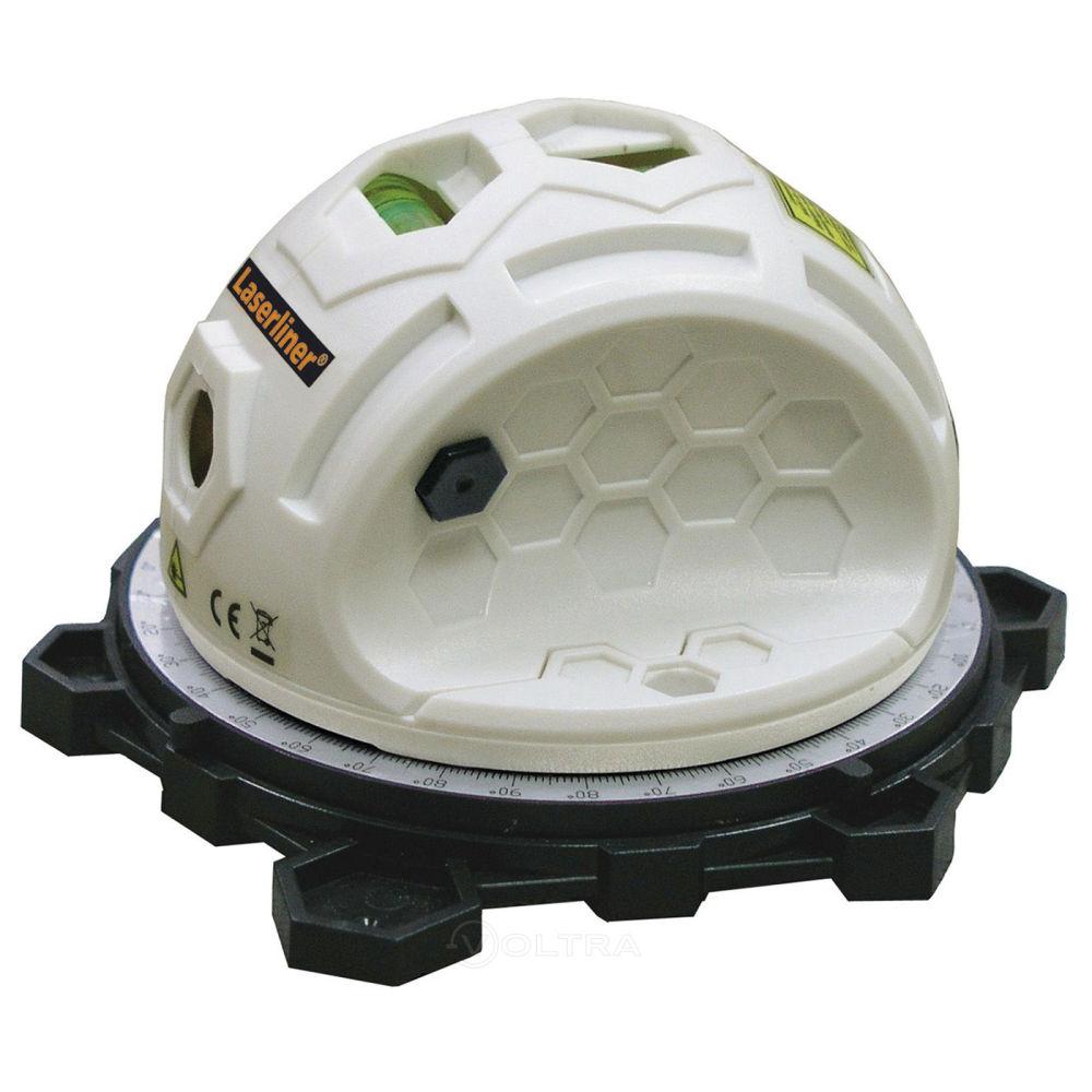 Водяной уровень с лазерным лучом LASERLINER SuperLine 2D 081.110A