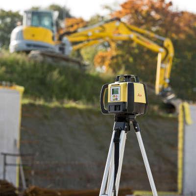 Ротационный лазерный нивелир Leica Rugby 680 RE160 (6015676)