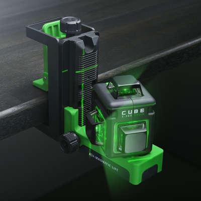 Лазерный уровень  ADA Cube 3-360 Green Basic Edition А00560