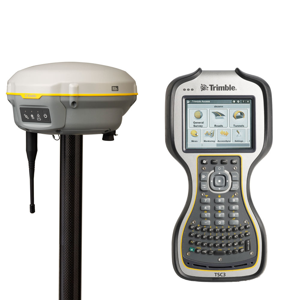 Комплект RTK-ровера Trimble R8s UHF + Base and Rover mode + TSC3