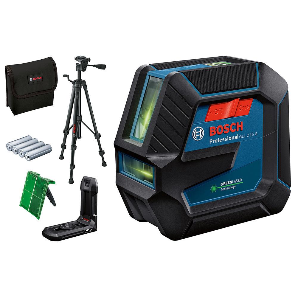 Лазерный уровень Bosch GLL 2-15 G + LB10 + BT150 0601063W01