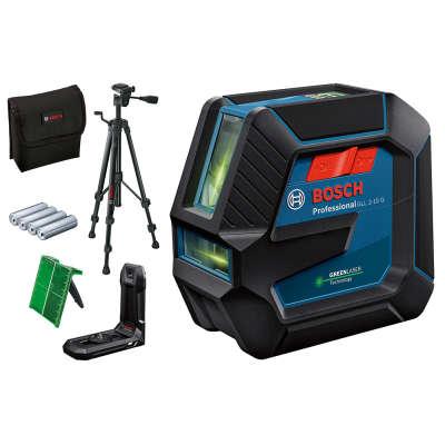Лазерный уровень Bosch GLL 2-15 G + LB10 + BT150 (0601063W01)