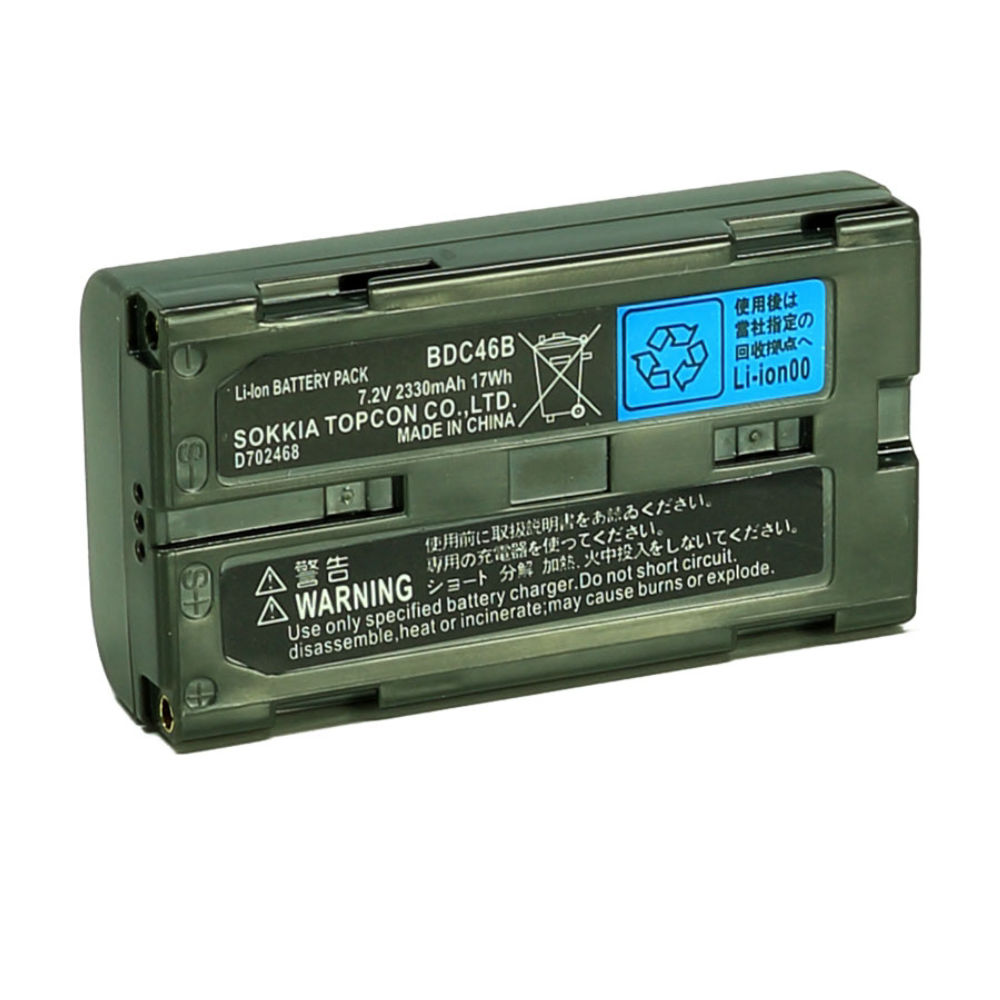 Аккумулятор для Sokkia ELC BDC46B (Li-Ion, 7.2В, 2600мАч)