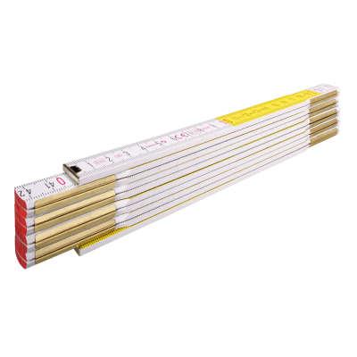 Метр складной STABILA 417 (2м х 16мм, белый/желтый) 14555