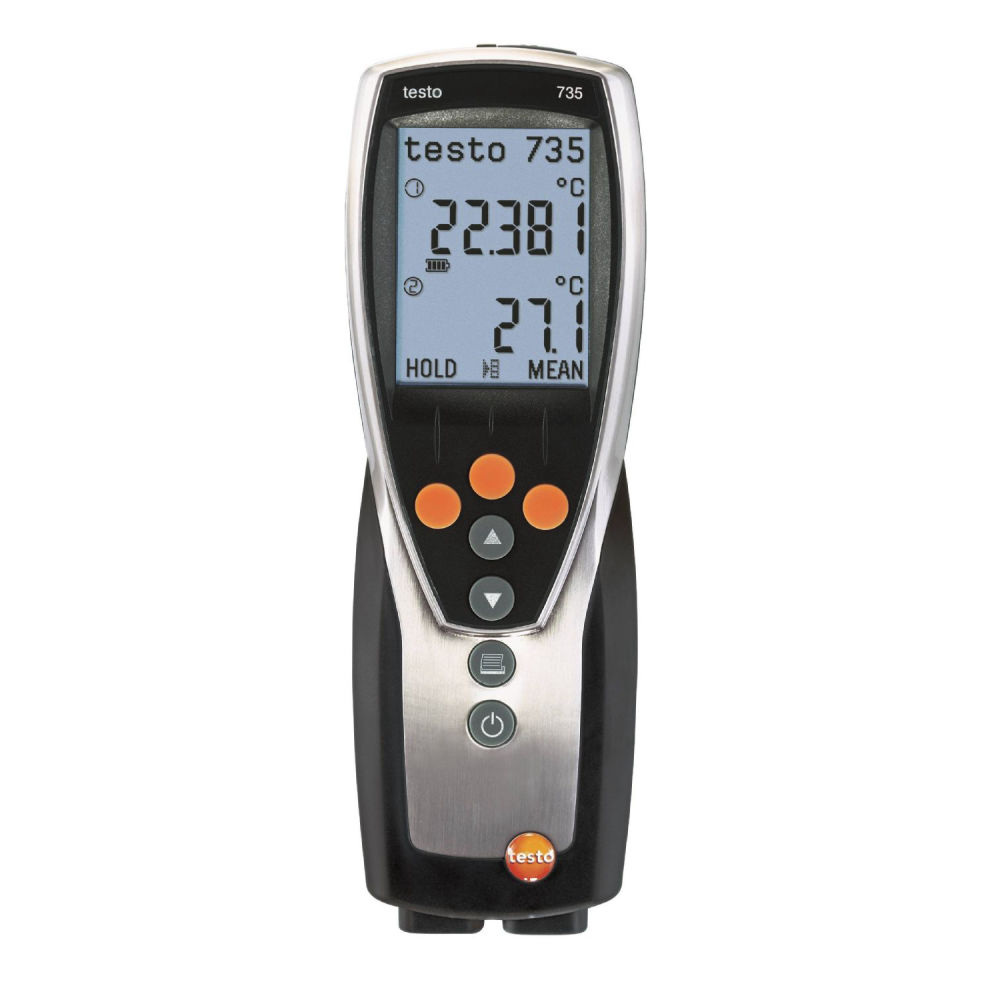 Термогигрометр Testo 735-2 с поверкой 0563 7352П