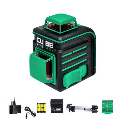 Лазерный уровень ADA Cube 2-360 Green Professional Edition (А00534)