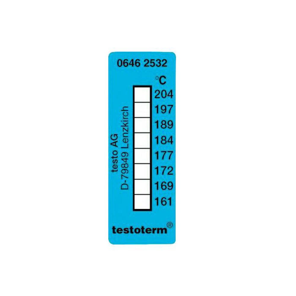 Термические полоски Testo (+161 °C to +204 °C) 0646 2532