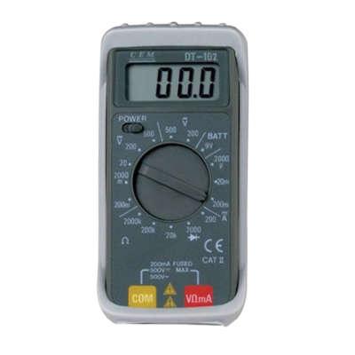 Мультиметр CEM DT-102 (481875)
