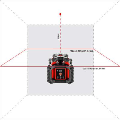 Лазерный нивелир ADA ROTARY 400 HV Servo (А00458_2020)