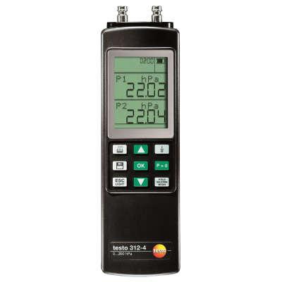 Манометр Testo 312-4 с поверкой (0632 0327П)