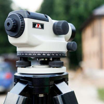 Оптический нивелир ADA Basis с поверкой + штатив + рейка 3м А00197_К