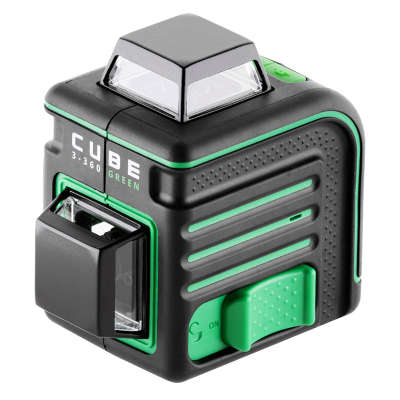 Лазерный уровень  ADA Cube 3-360 Green Professional Edition (А00573)