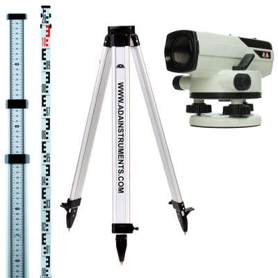 Оптический нивелир ADA PROF X32 + Staff 3 +  Light S А00119_К1