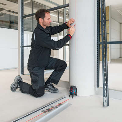 Лазерный уровень Bosch GCL 2-50 (RM1, BM3, LR6, L-boxx) 0601066F01