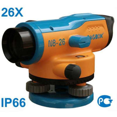Комплект нивелира GEOBOX N8-26 TRIO 100168